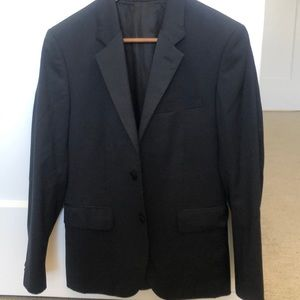 Theory navy suit jacket